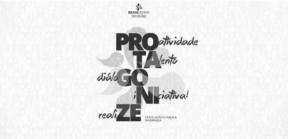 Banner Brasil Kirin - Protagonize